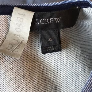 J. Crew Tops - J. Crew Chambray Scalloped Top with Grommets
